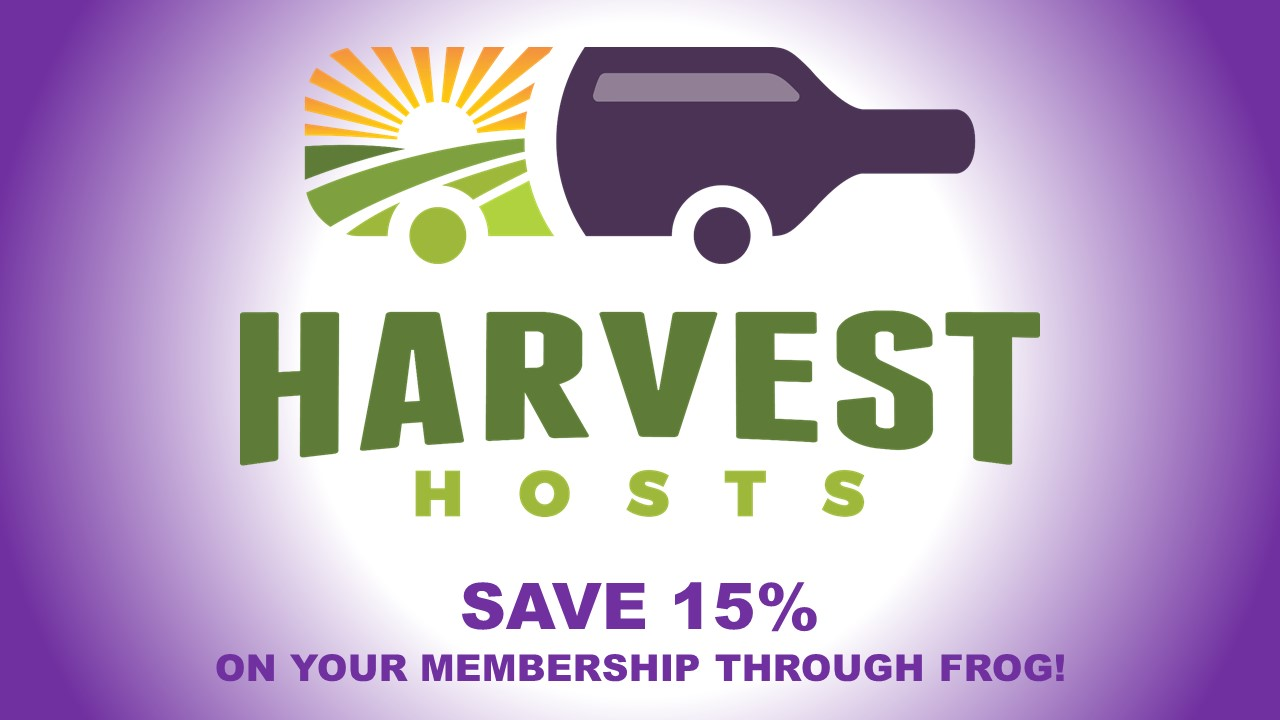 Harvest Hosts, Save 15%